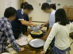 調理活動の様子