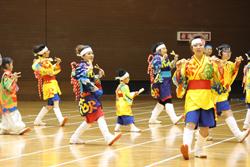 彩風舞人さんの演舞、盛り上がりました